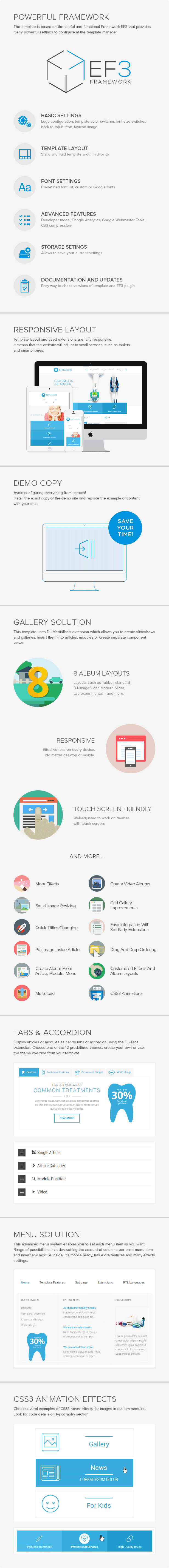 Joomla medical & service template by Joomla-Monster