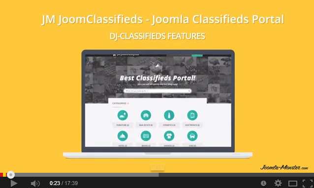 JM Joomclassifieds - classifieds Joomla portal by Joomla-Monster